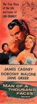 Man of a Thousand Faces 1957 DVD - James Cagney / Dorothy Malone